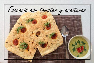 Focaccia-tomates-aceitunas